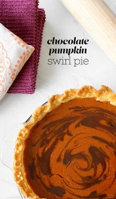 Pumpkin Chocolate Swirl Pie – Pies Before Guys Chocolate Pumpkin Pie, Chocolate Pie Recipes, Chocolate Swirl, Chocolate Tarts, Pumpkin Tarts, Pumpkin Pie Recipes, Strudel, Thanksgiving Pies, Thanksgiving 2020