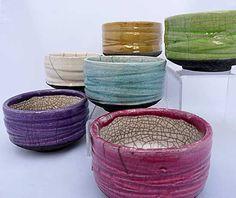 Bols japonais - poterie raku par Kaolin Céations