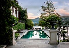 Великолепная вилла Palatina на озере Комо   Пуфик - блог о дизайне интерьера