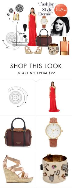 """Eternal Style!!"" by stylediva20 on Polyvore featuring Paul Frank, Juan Carlos Obando, Burberry, Kate Spade, Joe's Jeans and Alexis Bittar"