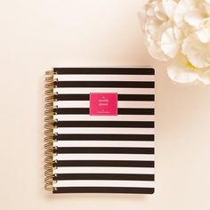 2015 Monthly Planner  Black & White Stripe Softcover    For our 2015 Collection we have returned to our roots, to the reason I began creating planners
