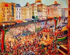 parades | Mardi Gras Rex Parade - Commissioned - by Diane Millsap from New ...