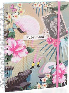 Tropicana Large Spiral Bound Notebook