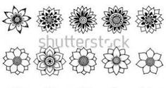google.at blumen schablone - Google-Suche Google, Sunflowers, Stencils, Search