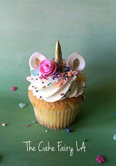 Items similar to Unicorn Cupcake Toppers - Unicorn Head Cupcake Topper Birthday Baby Shower - Magical Cupcake Toppers - Unicorn Birthday - Unicorn Baby Gold on Etsy Fondant Cupcakes, Unicorn Cupcakes Toppers, Cupcake Cakes, Fairy Cupcakes, Unicorn Cakes, Custom Cupcakes, Rose Cupcake, Pink Cupcakes, Gold Fondant