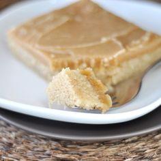 Peanut Butter Texas sheetcake
