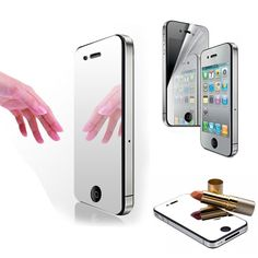 Professional Front Back Full Body Screen Guard Film + Cleaning Cloth for iPhone 4/4S