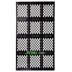 Vovotrade 1 Sheets New Nail Hollow Irregular Grid Stencil Reusable Manicure Stickers (JV201) -- Unbelievable  item right here! : DIY Makeup