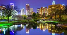 Charlotte, NC, named one of the most underrated cities in the U. See the whole list! Oh The Places You'll Go, Places To Travel, Places To Visit, Charolette North Carolina, Camping In North Carolina, Cities, All I Ever Wanted, Charlotte Nc, Downtown Charlotte