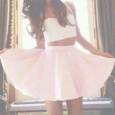 skirt tank top cute white crop tops celebrity celebrities ariana grande ariana grande butera celebrity style instagram instagram fashion