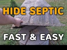 how to hide a septic tank with a decorative septic cover playlist yard landscapinglandscaping ideasbackyard