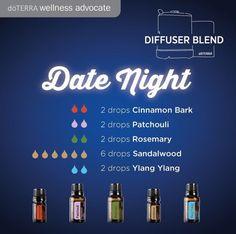 Date Night Diffuser Blend