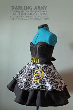 """BBC Sherlock 221B dress | BBC Sherlock 221B Baker Street Cosplay Apron Pinafore Skirt Dress"