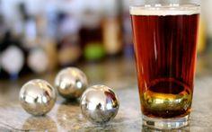 Spirit Steels: as esferas de aço gelam bebidas sem aguá-las
