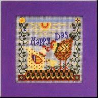 Mill Hill Buttoned and Beaded Kit  Happy Day by DebiCreations, $11.99