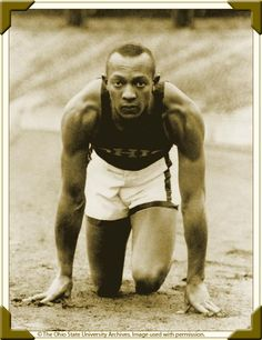 """James Cleveland """"Jesse"""" Owens (September 12, 1913 - March 31, 1980) was an American track and field athlete and four-time Olympic gold medalist. Owens, who specialized in sprints and long jump, was recognized in his lifetime as """"perhaps the greatest and most famous athlete in track and field history""""."""