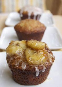 Banana's Foster Cupcakes