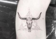 Dr. Woo Tattoo Artist | Half Needle Tattoo | Skull