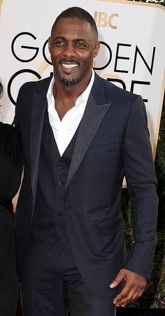idris goldnen globes | Idris Elba at the Golden Globes 2014