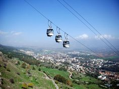 Boker Tov. Good Morning from the Manara Cliff cable car in the Galilee.