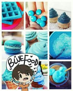 Image result for percy jackson blue food