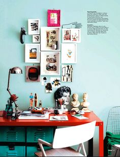 Definitely want to do dis in my house - The New York apartment of stylist Marcus Hay Ideat Magazine. Photos by Jonny Valiant.