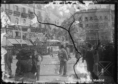 Puerta del Sol 1900 Archivo Azpiazu AZP-274