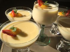 Food N, Food And Drink, My Favorite Food, Favorite Recipes, Mousse, Panna Cotta, Bakery, Pudding, Dinner