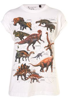 This Dino tee calls to my 7 year old self, who was going to be a paleontologist.