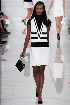 Ralph Lauren Spring 2014 Ready-to-Wear Fashion Show - Fatima Siad