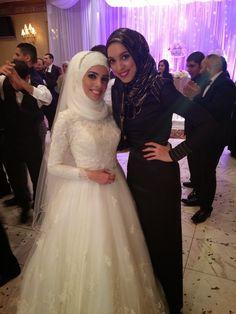 hijabi fashion. hijabi wedding style. modest wedding. hani hulu. wedding formal attire.