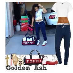 A fashion look from August 2014 featuring Topshop t-shirts, Tommy Hilfiger handbags and Michael Kors watches. Browse and shop related looks.
