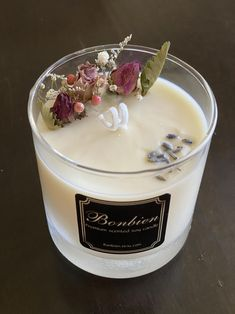 Natural Candles, Best Candles, Diy Candles, Soy Wax Candles, Homemade Scented Candles, Candle Craft, Candle Packaging, Rose Candle, Candle Making