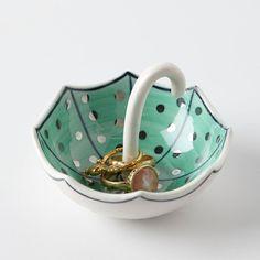 Umbrella Ring Dish.