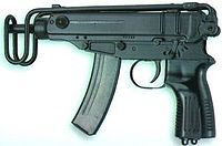 61 Skorpion - Internet Movie Firearms Database - Guns in Movies, TV and Video Games Rifles, 32 Acp, Winter Soldier Cosplay, Guy Ritchie, Submachine Gun, Internet Movies, Air France, Guns And Ammo, Firearms