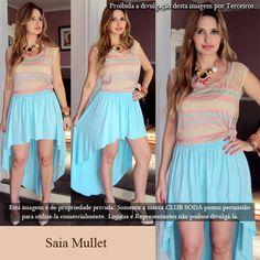 Verão 2013 Club Soda -Saia Mullet!!