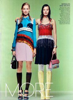 vuas2 Vogue US Janeiro 2014 | Karlie Kloss, Joan Small, Vanessa Axente e mais por Craig McDean  [Editorial]