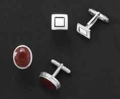 Sterling Silver Cuff Links. Find these and much more in our online catalog at www.samanthassilver.com  FREE SHIPPING ALWAYS!  Online Catalog, Use VENDOR CODE:  AFF9965 at checkout!