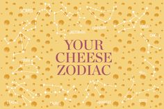 Have you been eating cheddar when you're more of a feta person? What if you're supposed to eat brie! Find out now. Sagittarius And Cancer, Gemini And Aquarius, Aries Zodiac, Zodiac Signs, Cooking Cheese, Food Signs, Best Party Food, Cheese Shop, Best Cheese