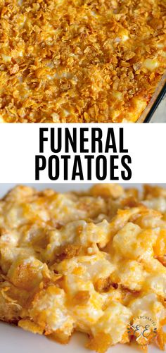 Funeral Potatoes – Easy Potato Casserole Side Dish