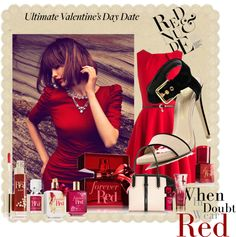 """Ultimate Valentine Day Date"" by prettyprunty ❤ liked on Polyvore"