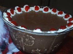 Receita de Mousse de chocolate - mousse de chocolate, mas essa receita eu ainda não conhecia, parece marvilhosa. Troque o chocolate em pó por barra de chocolate ao leite de 170...