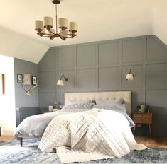 Monday Inspiration: Revamp Restyle Reveal Special – Mad About The House – Bedroom Inspirations Bedroom Colors, Home Decor Bedroom, Modern Bedroom, Bedroom Interiors, Ikea Bedroom, Bedroom Furniture, Bedroom Ideas, House Interiors, Bedroom Designs