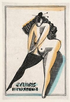 Book erotic plate