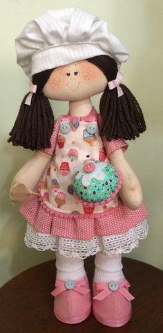 Boneca Lili Cupcake
