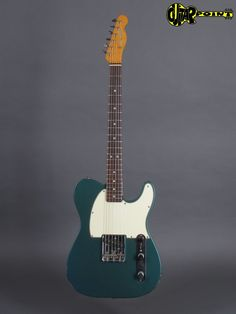 Tolex case All original 1966 Fender Esquire in rare Lake Placid Blue metallic. The instrument is all original and Fender Esquire, Lake Placid Blue, Beautiful Guitars, Vintage Guitars, Bass, Heaven, Old Things, Music, Guitar