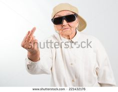 Funny Grandmas Studio Portrait Wearing Eyeglasses Stock Photo (Edit Now) 221432176 - Stock Photo - Ideas of Stock Photo Photo - Funny grandmas studio portrait wearing eyeglasses and baseball cap who shows her f-finger isolated on white stock photo Best Memes, Dankest Memes, Funny Memes, Grandma Memes, Funny Grandma, Rick Memes, Lady Memes, Photos Free, Aesthetic People