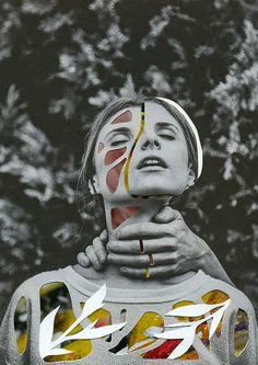 photo collages by Rocio Montoya | http://ineedaguide.blogspot.it/2015/01/rocio-montoya-update.html #art #photography #collage