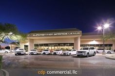 Superstition Springs Lexus Mesa Arizona #VanTuyl https://cdpcommercial.com/Architectural Photographer Phoenix