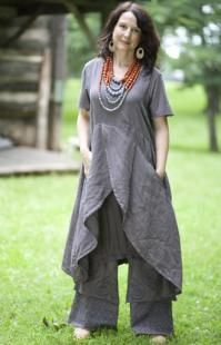 Parasol Dress UnPrinted - NuVogue